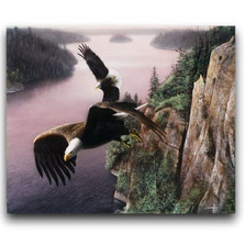 "Eagle Print ""Wings Over the St. Croix"" 