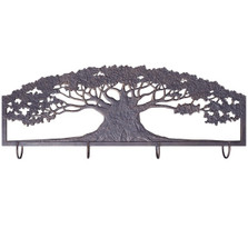 Tree Metal Wall Art Coat Rack | Painted Sky | PSWHAM-TR