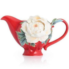Venice Peony Porcelain Creamer | FZ02750 | Franz Porcelain Collection -2