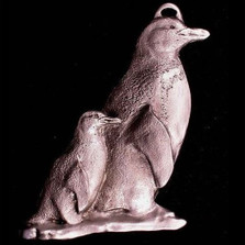 Penguin Pewter Ornament | Andy Schumann | SCHMC122105