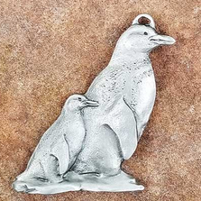 Penguin Pewter Ornament | Andy Schumann | SCHMC122105