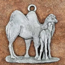 Camel Pewter Ornament | Andy Schumann | SCHMC122107