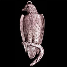 Eagle Pewter Ornament | Andy Schumann | SCHMC122114