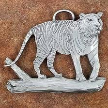 Tiger Pewter Ornament | Andy Schumann | SCHMC122128