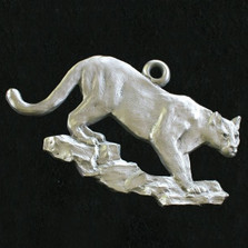 Cougar Pewter Ornament | Andy Schumann | SCHMC122137