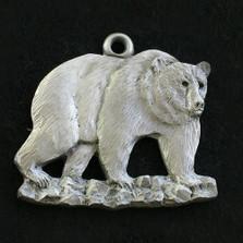 Grizzly Bear Pewter Ornament | Andy Schumann | SCHMC122141