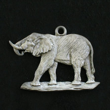 Elephant Pewter Ornament | Andy Schumann | SCHMC122147