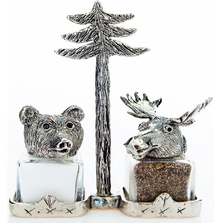 Moose Bear Salt Pepper Shakers | Silvie Goldmark | sgm112
