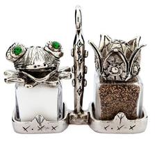 Frog Prince Salt Pepper Shakers | Silvie Goldmark | sgm113