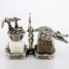 Alligator Island Salt Pepper Shakers | Silvie Goldmark | SGM114
