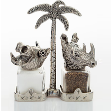 Hippo Rhino Salt Pepper Shakers | Silvie Goldmark | SGM115