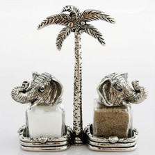 King Queen Elephant Salt Pepper Shakers | Silvie Goldmark | SGM116