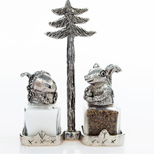 Squirrel Nut Salt Pepper Shakers Nutty Buddies | Silvie Goldmark | SGM120
