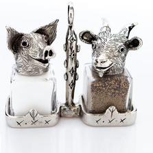 Pig Goat Salt Pepper Shakers | Silvie Goldmark | SGM123