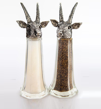 Antelope Tall Salt Pepper Shakers | Silvie Goldmark | SGM127