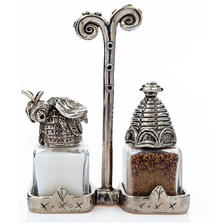 Bee Beehive Salt Pepper Shakers | Silvie Goldmark | SGM13