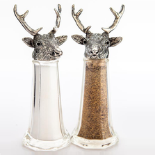 Stag Elk Tall Salt Pepper Shakers | Silvie Goldmark | SGM131