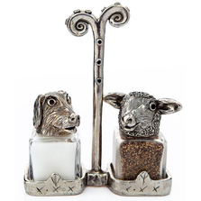 Dog Sheep Salt Pepper Shakers | Silvie Goldmark | SGM25