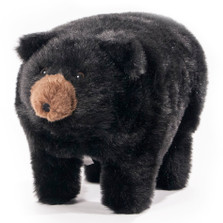 "Black Bear Footstool ""Midnite"" 