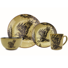 Eagle Dinnerware 4 Piece Place Setting | Unison Gifts | UGITFCEAGLE