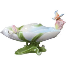 Butterfly Porcelain Large Bowl | Unicorn Studios | USIAP20261AA