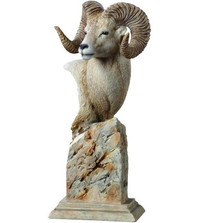 "Ram Sculpture ""Summit"" 
