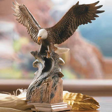 Eagle Sculpture Splash Down
