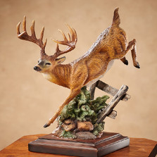 "Deer Sculpture ""Bound For Cover"" 