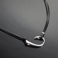 The Ollie Sideways Hook Necklace   Anisa Stewart Jewelry   ASJ2-1p1017-S18
