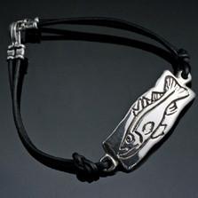 Snook Sterling Silver Bracelet | Anisa Stewart Jewelry | BBRBF1006