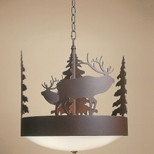 Elk Chandelier | Colorado Dallas | CDC151113