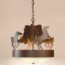 Horse Scout Chandelier | Colorado Dallas | CDC1531353135