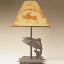 Fish Profile Table Lamp | Colorado Dallas | CDL0523-SH2155HP05