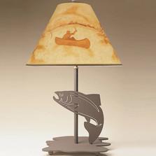 Fish Profile Table Lamp | Colorado Dallas | CDL0523-SH2155HP05