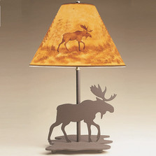 Moose Profile Table Lamp | Colorado Dallas | CDL1027-SH2156HP10