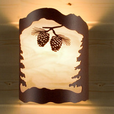 Pinecone Wall Sconce | Colorado Dallas | CDSCGS02DIRHO