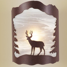 Deer Wall Sconce | Colorado Dallas | CDSCGS16ALDIR