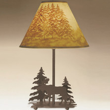 Moose Table Lamp | Colorado Dallas | CDSL1027LSH2156HP13