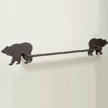 Bear Towel Bar | Colorado Dallas | CDTB12-24