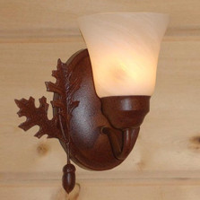 Oak Leaf & Acorn Sconce | Colorado Dallas | CDWL810-09FR-FA