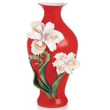 Pure Beauty Iris Vase | FZ02943 | Franz Porcelain Collection -2