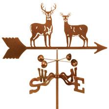 Deer Duo Weathervane | EZ Vane | ezvdeerduo