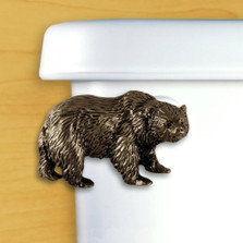 Bear Toilet Flush Handle | Functional Fine Art | ffa00107