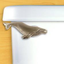 Humpback Whale Toilet Flush Handle | Functional Fine Art | ffa00109