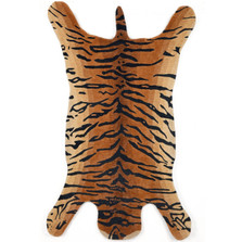Tiger Shape Wool Area Rug | Trans Ocean | TOG964419Shaped