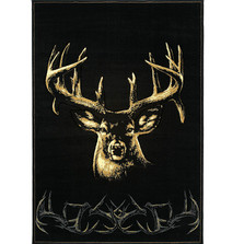 "Deer Area Rug ""Moment of Truth"" 