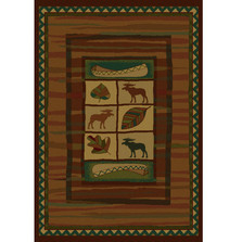 Highland Falls Moose Area Rug | United Weavers | UW530-23243