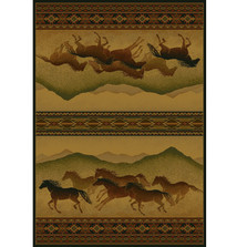 Horse Area Rug Chestnut Mare Lodge | United Weavers | UW530-52543