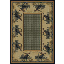 Northwood Moose Area Rug | United Weavers | UW532-40417