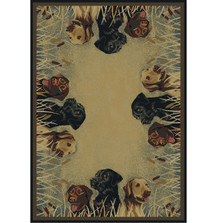 Labradors In Marsh Area Rug | United Weavers | UW532-40617